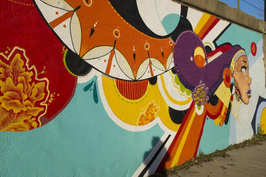Street art in Pilsen