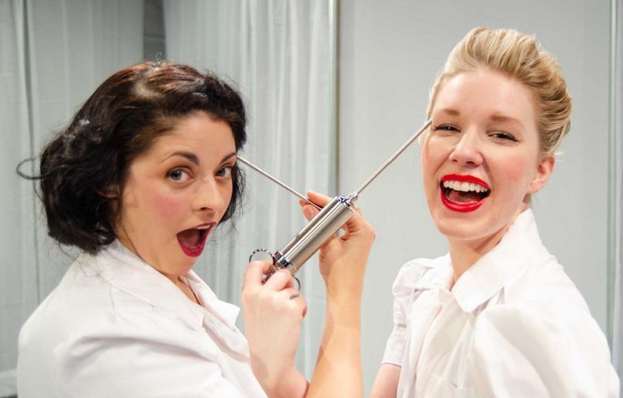 Lipstick Lobotomy at Trap Door Theatre