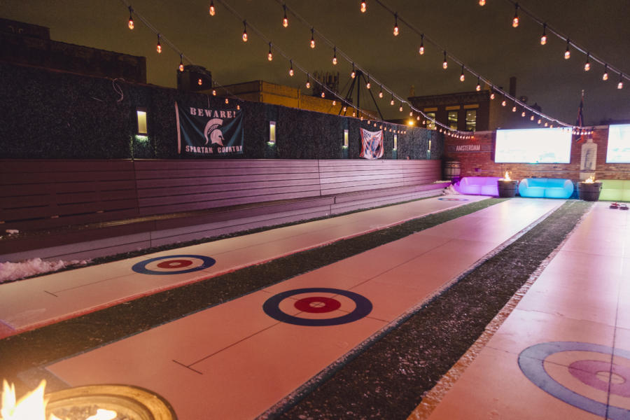 Whiskey Business curling