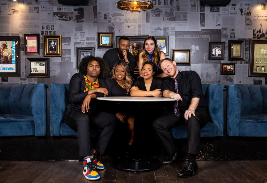 The cast of Second City's Black History Month Show 2020