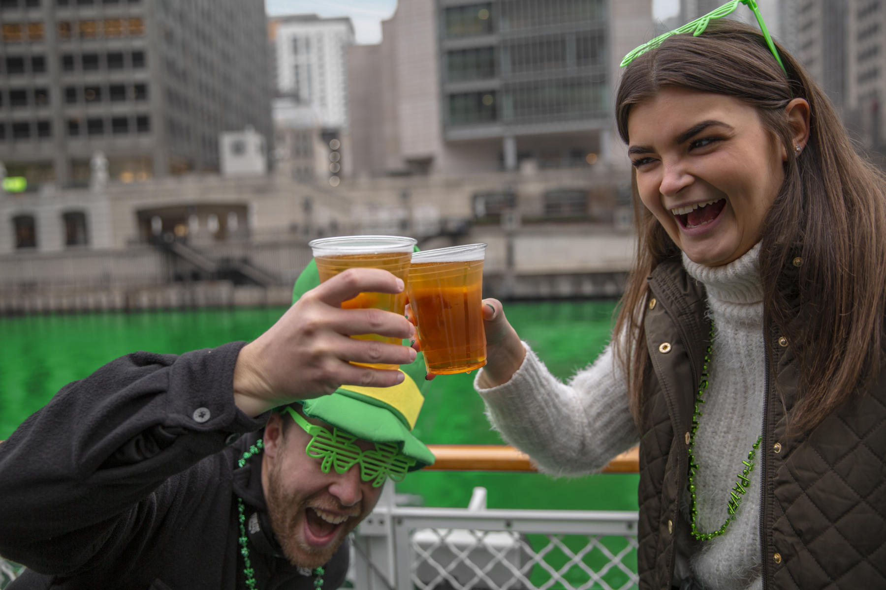 St. Patrick's Day Clover Cruise by Chicago's First Lady Cruises