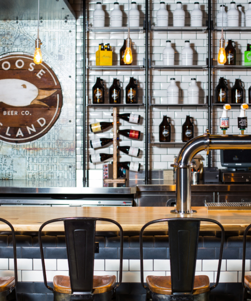 Taste on Tap at Goose Island Brewery's Tap Room