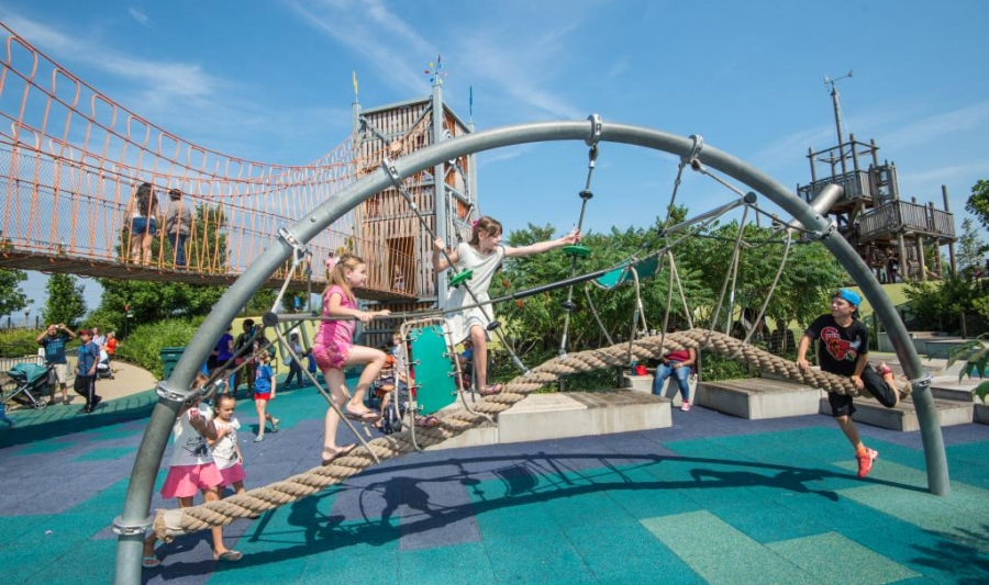 Maggie Daley Park playground
