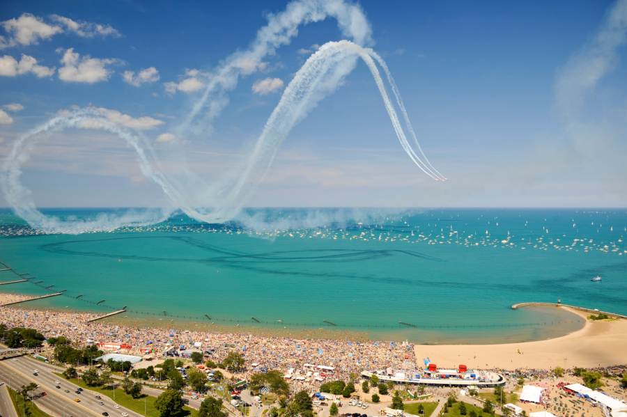 Where to watch the Chicago Air & Water Show