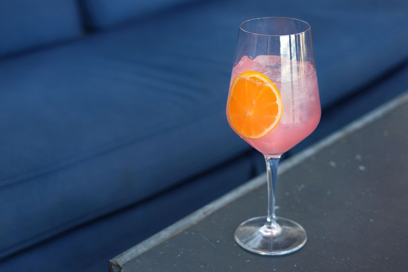 A mocktail at Cindy's