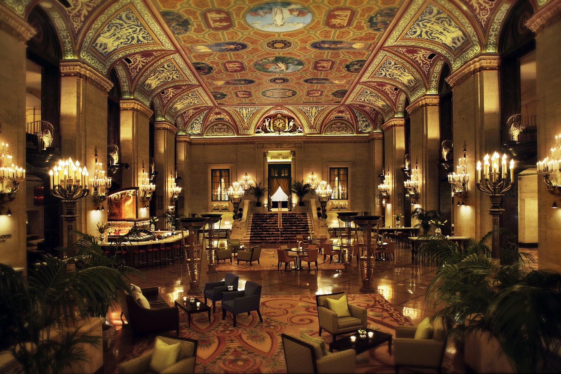 Lobby of Palmer House, A Hilton Hotel
