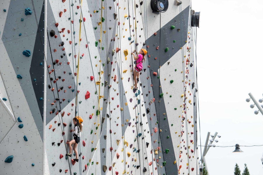 Maggie Daley Park rock wall
