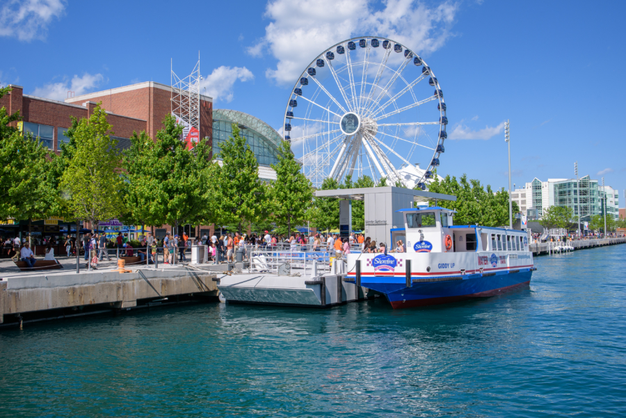 Navy Pier Shoreline Boats