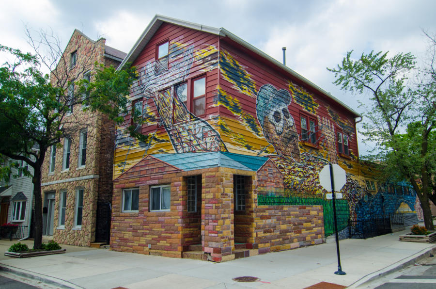 Héctor Duarte Studio in Chicago's Pilsen neighborhood