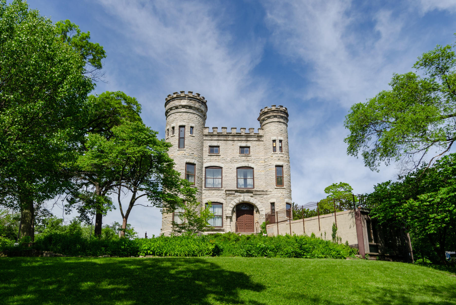 The Givins Castle in Chicago's Beverly neighborhood