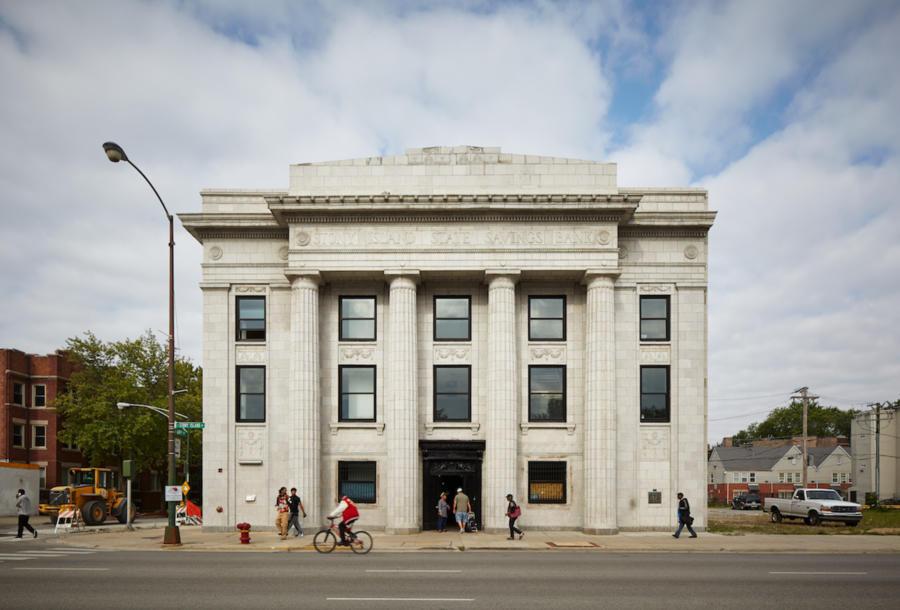 Stony Island Arts Bank exterior