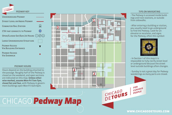 Pedway Map - Blog - Detours