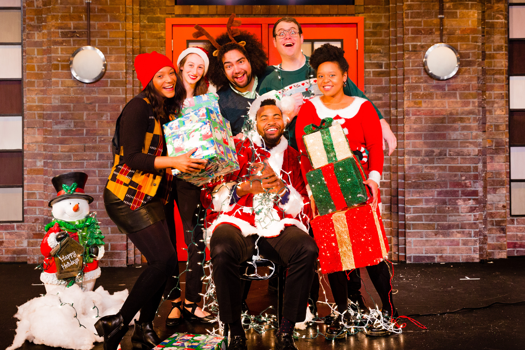 The Second City holiday show