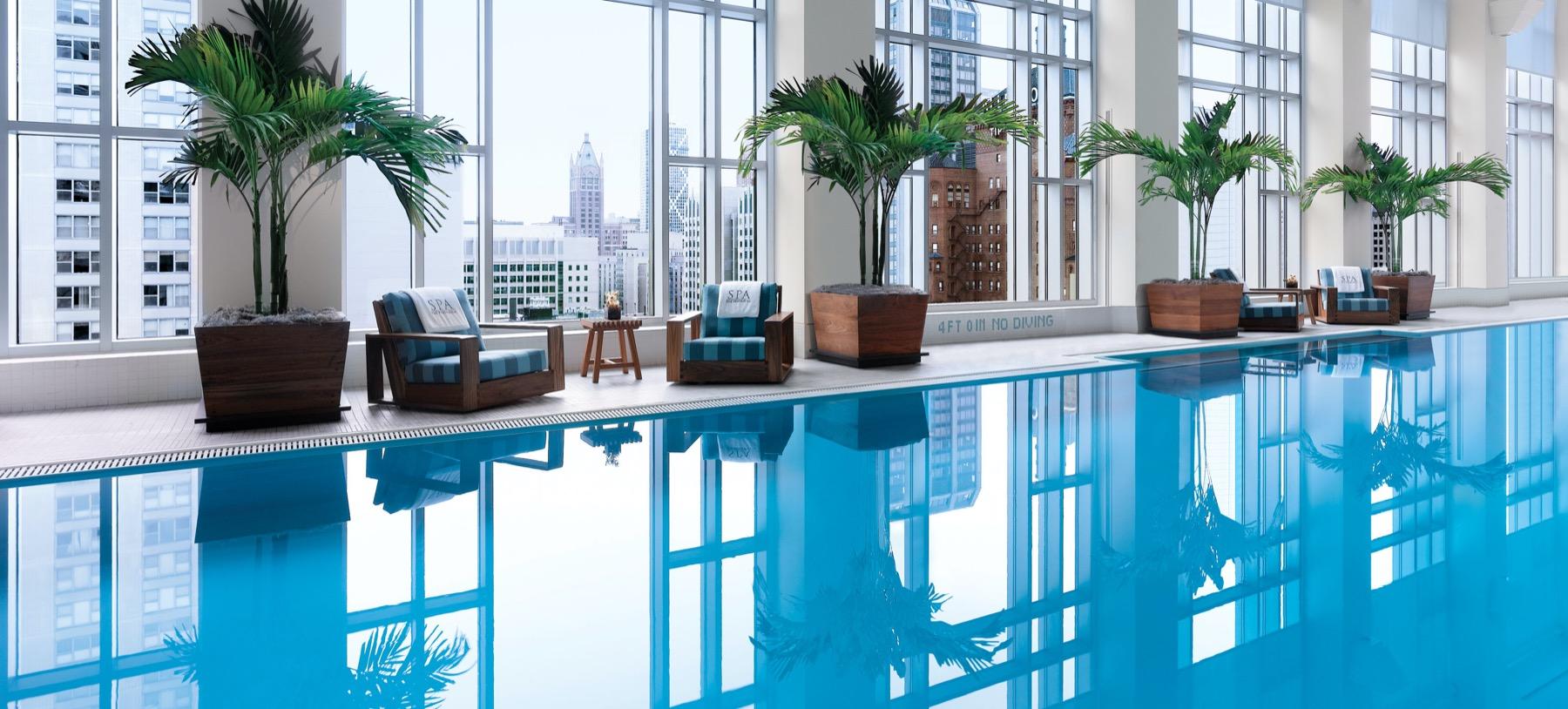 Pool at Peninsula Chicago