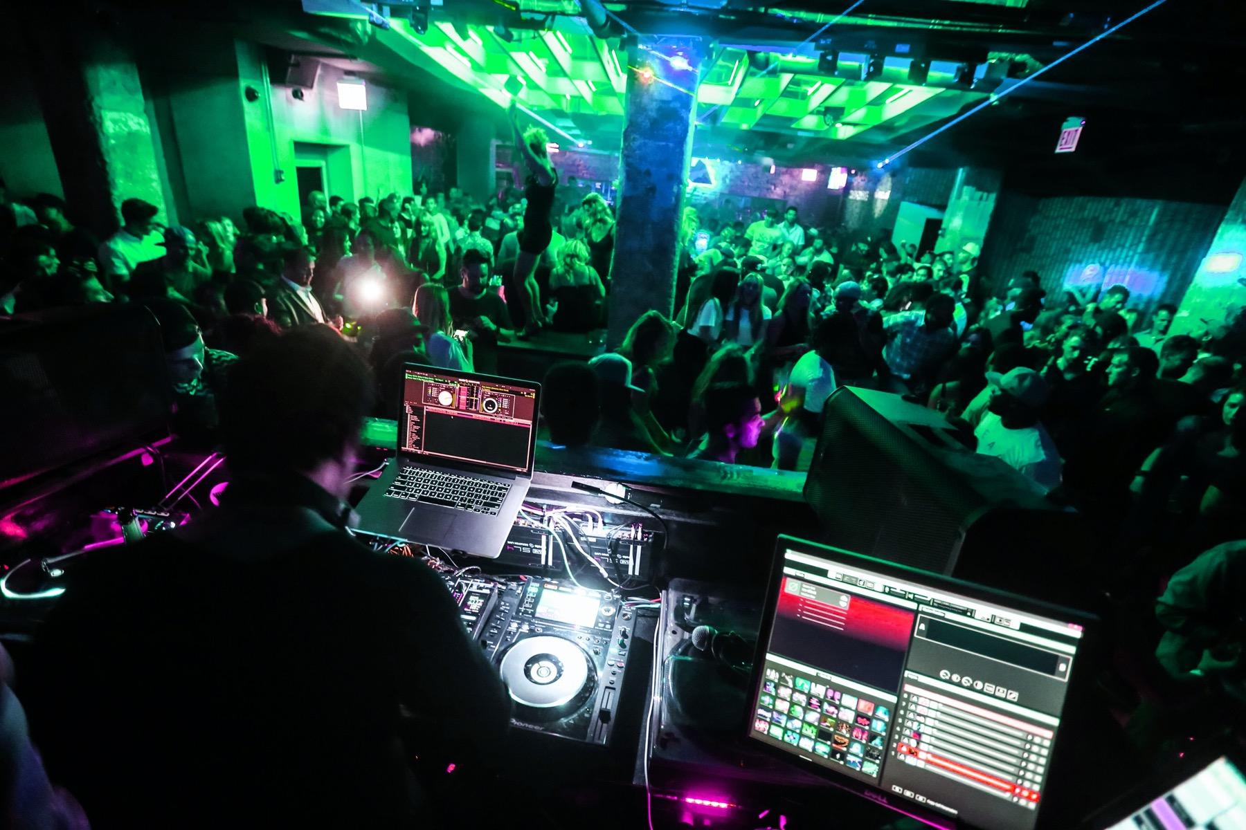 DJ at Underground