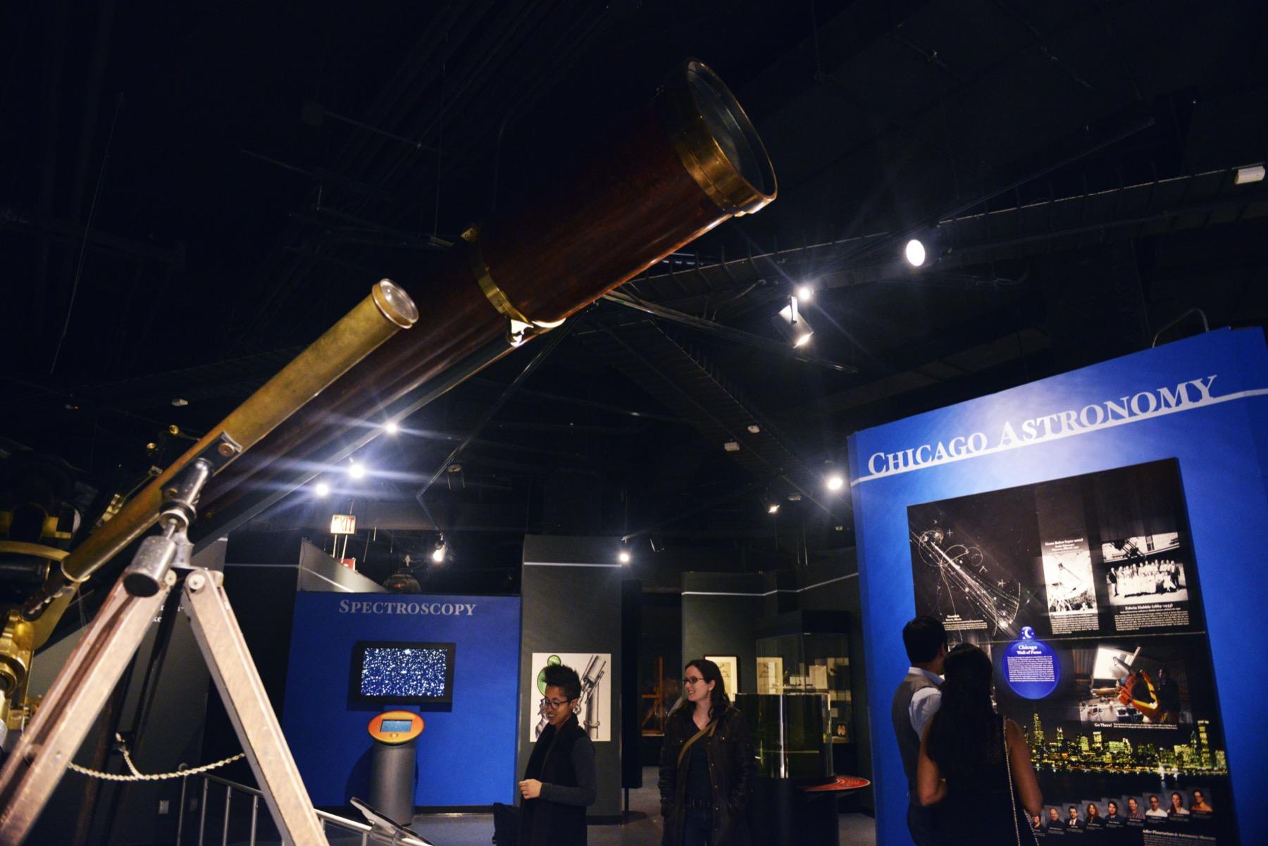 Adler Planetarium telescopes
