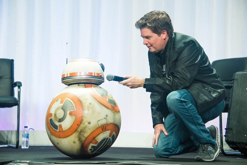 BB8 at Star Wars Celebration