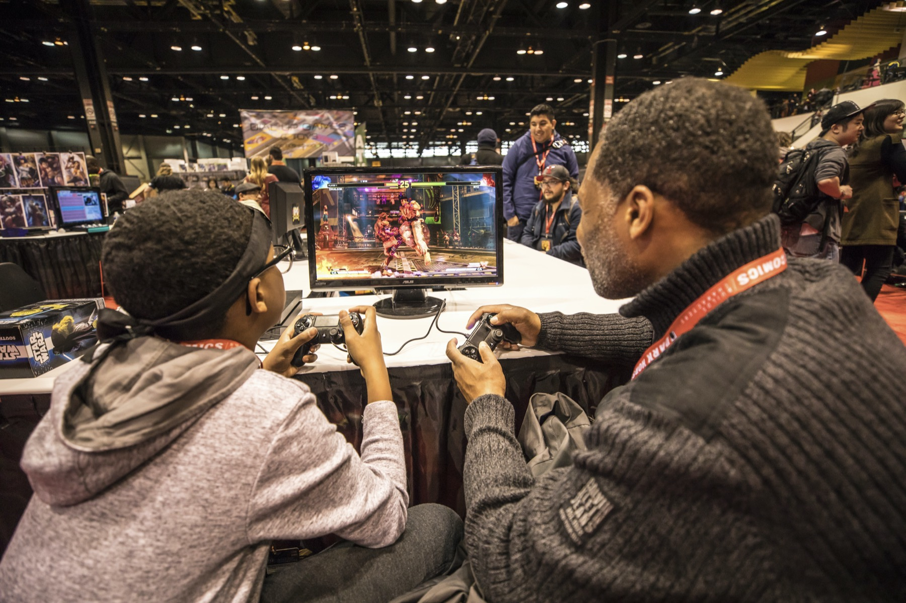 Gamers at c2e2