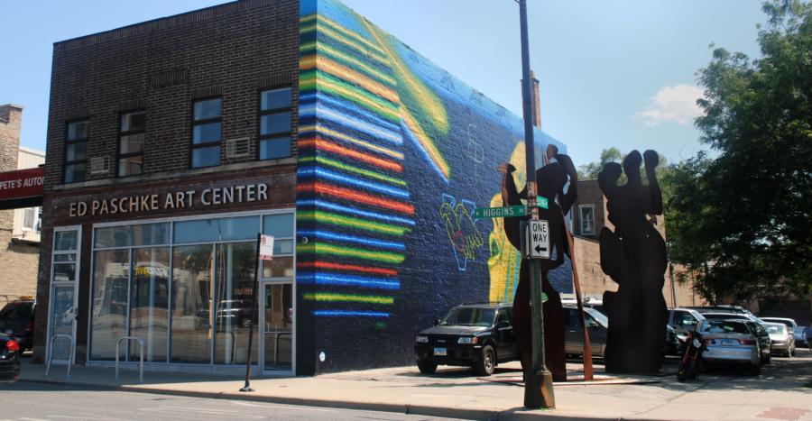ed paschke art center in jefferson park chicago