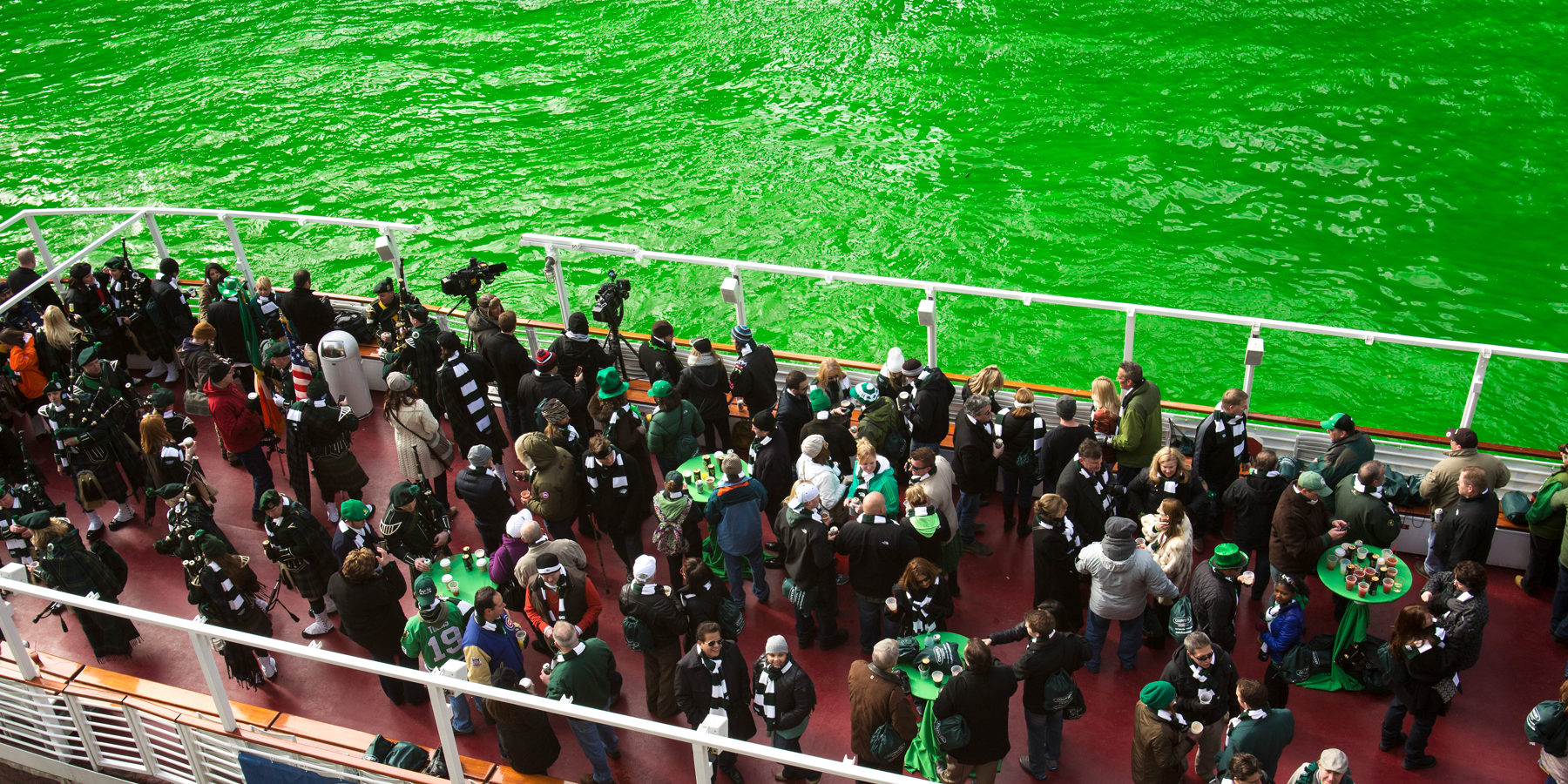 St Patricks Day green river