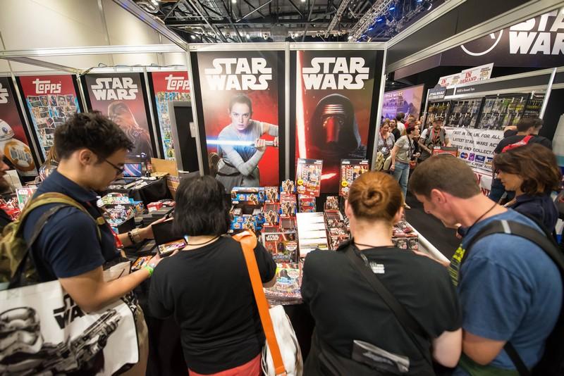 Star Wars Celebration marketplace