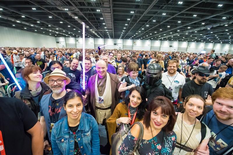 Star Wars Celebration crowd