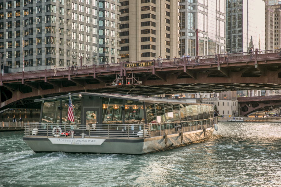 Dine on the Odyssey River Boat Cruise