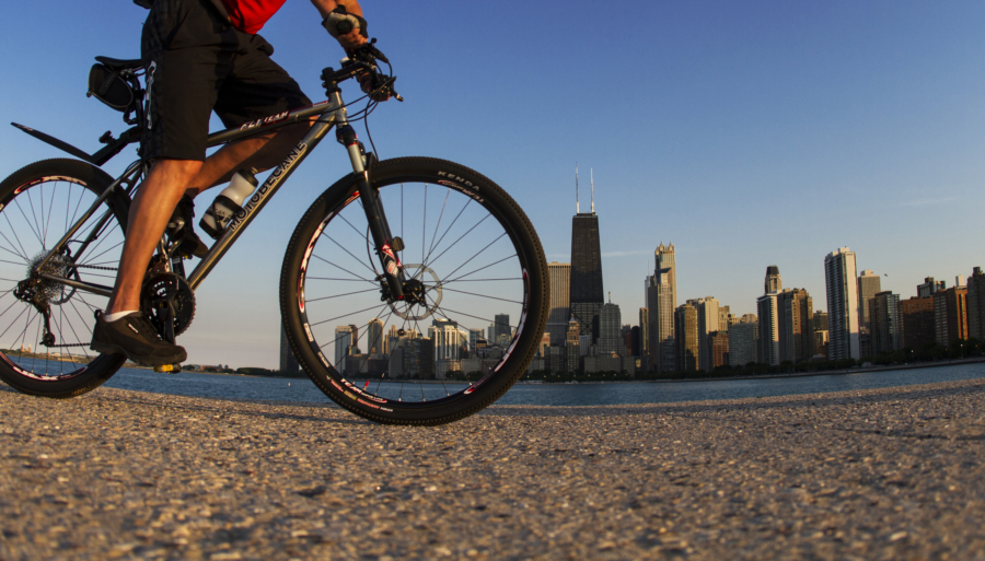 Bike the Lakefront Trail