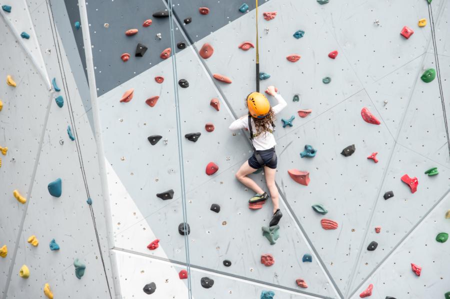 Rock Climb at Maggie Daley Park