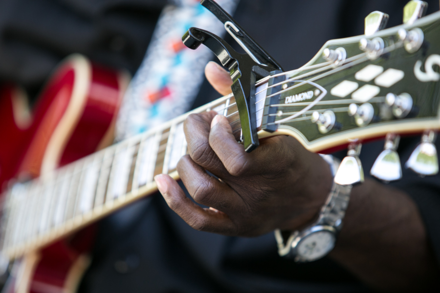 Blues Fest Close up of a Musician