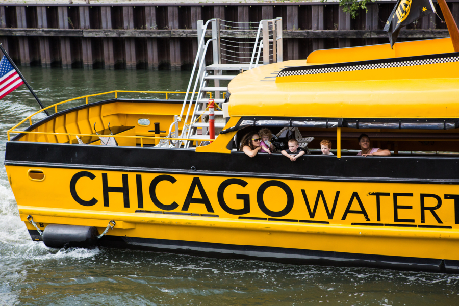 Chicago Water Taxi Boat Tour