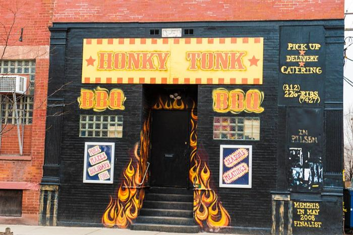 Honky Tonk BBQ storefront