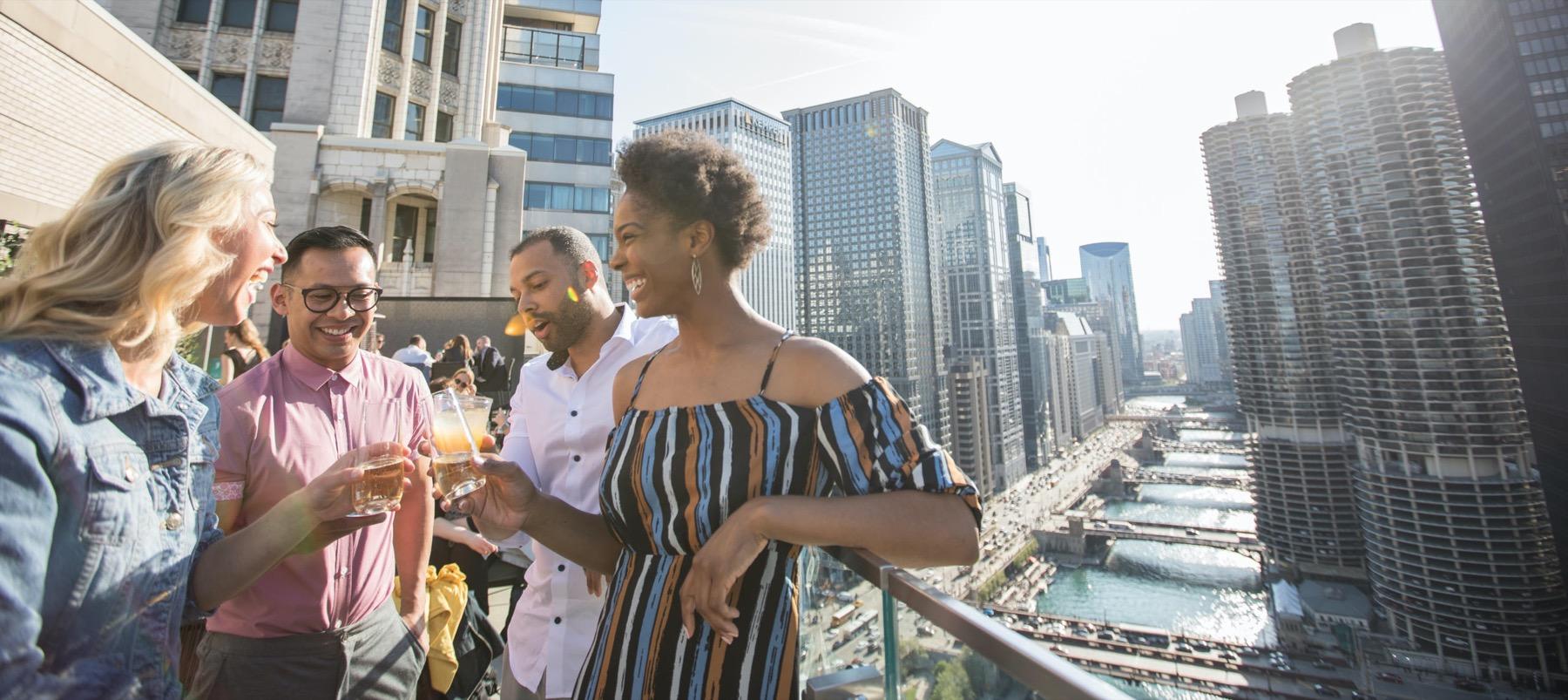Top Patio Rooftop Bars In Chicago Find Outdoor Restaurants