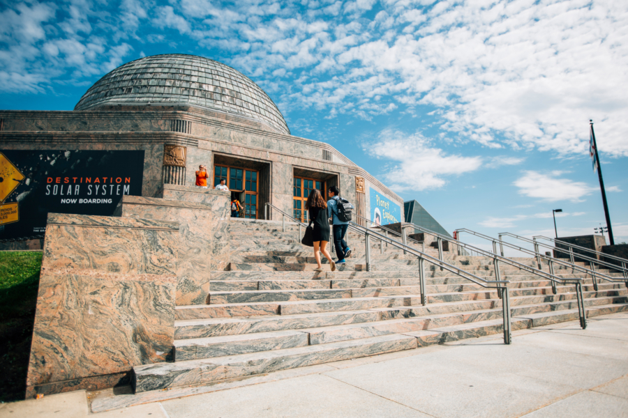 Walk through space and time at Adler Planetarium