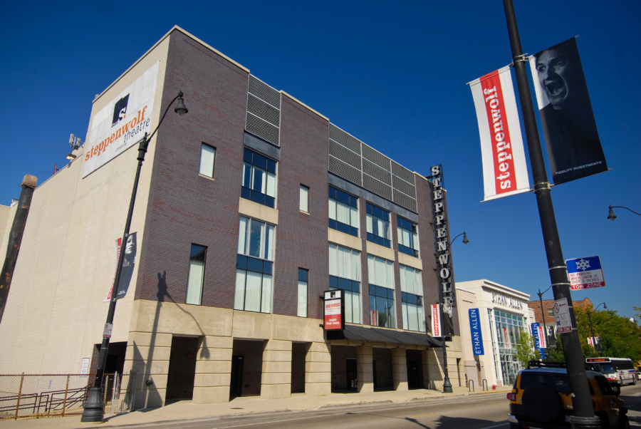 Exterior of Steppenwolf Theatre