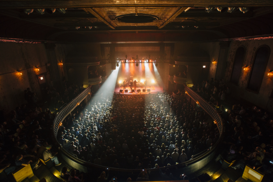 A sold out show at Thalia Hall