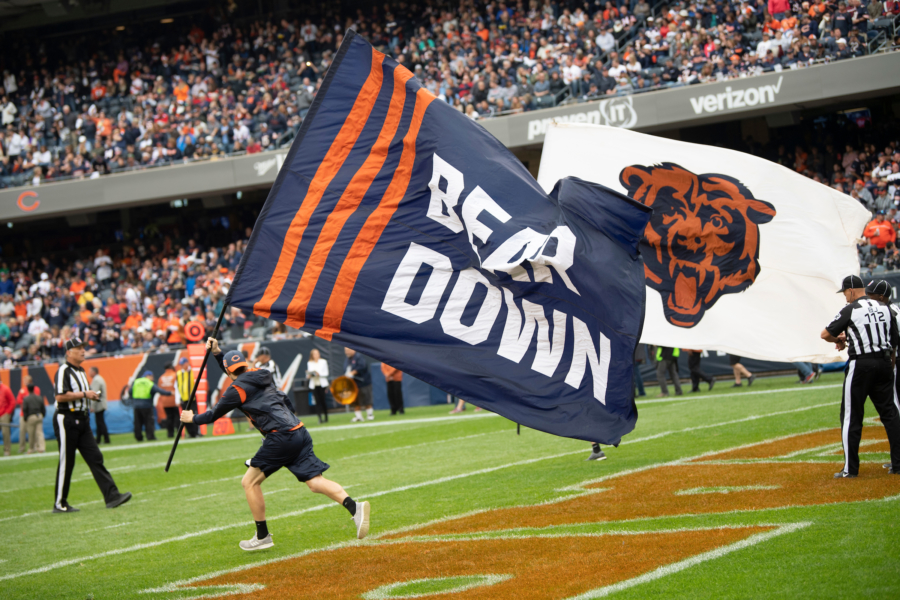 Chicago Bears playing the Tampa Bay Buccaneers, Sunday, September 30, 2018, in Chicago, Illinois.