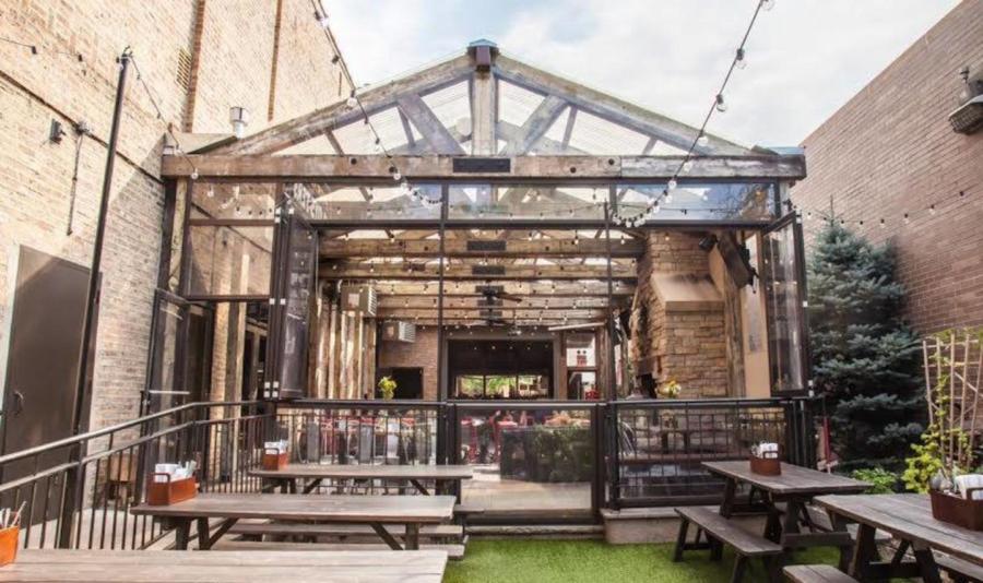 Frontier Beer Garden