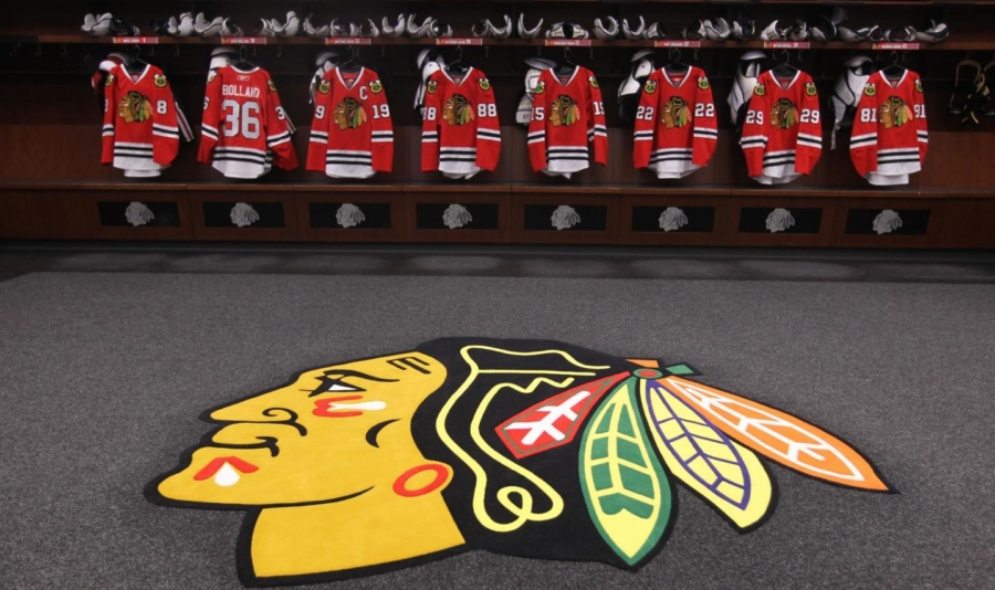 Chicago Blackhawks room