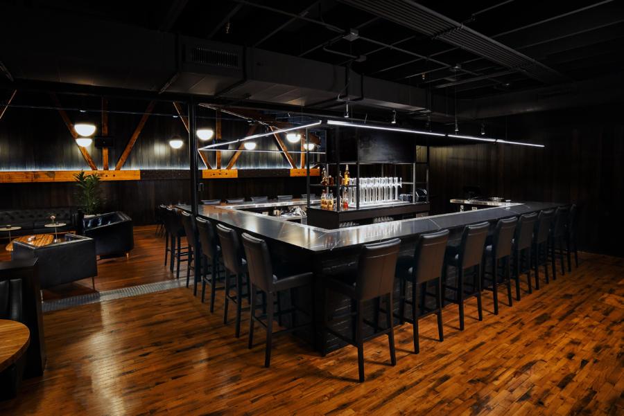 The bar at Moody Tongue