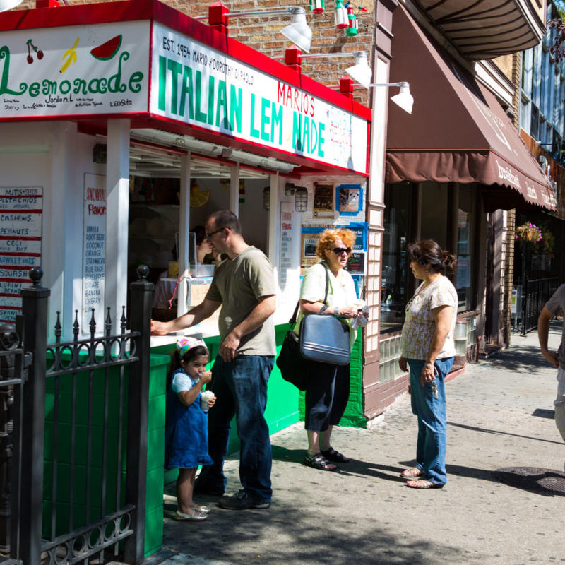 Mario's Italian Ice in Little Italy