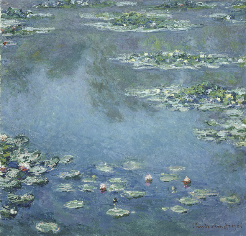 Monet's water lillies