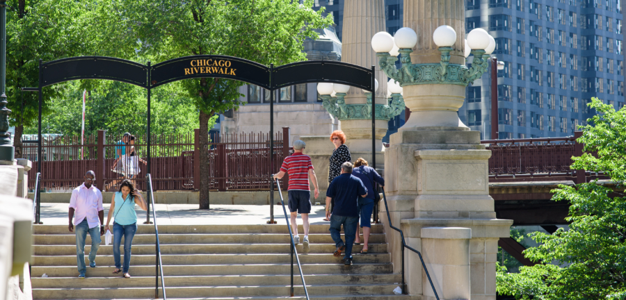 Spend a day on the Chicago Riverwalk