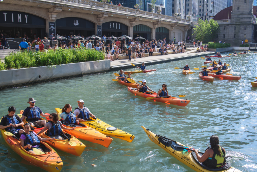 Riverwalk kayaks