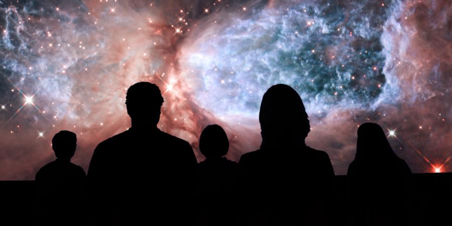 Adler Planetarium sky