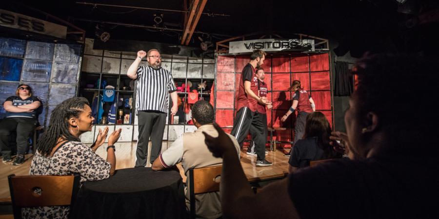 ComedySportz comedy club Chicago