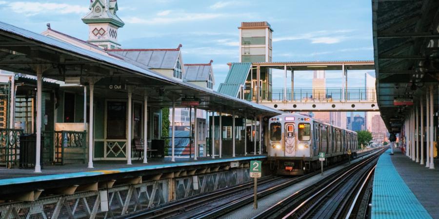 L Train at Garfield Station