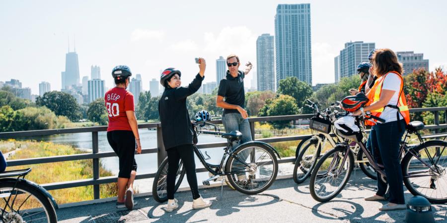 Explore Chicago on Bike