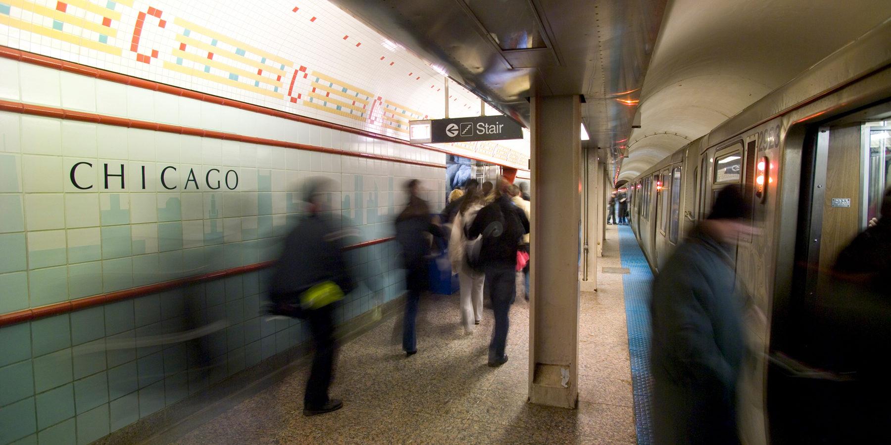 Underground L station