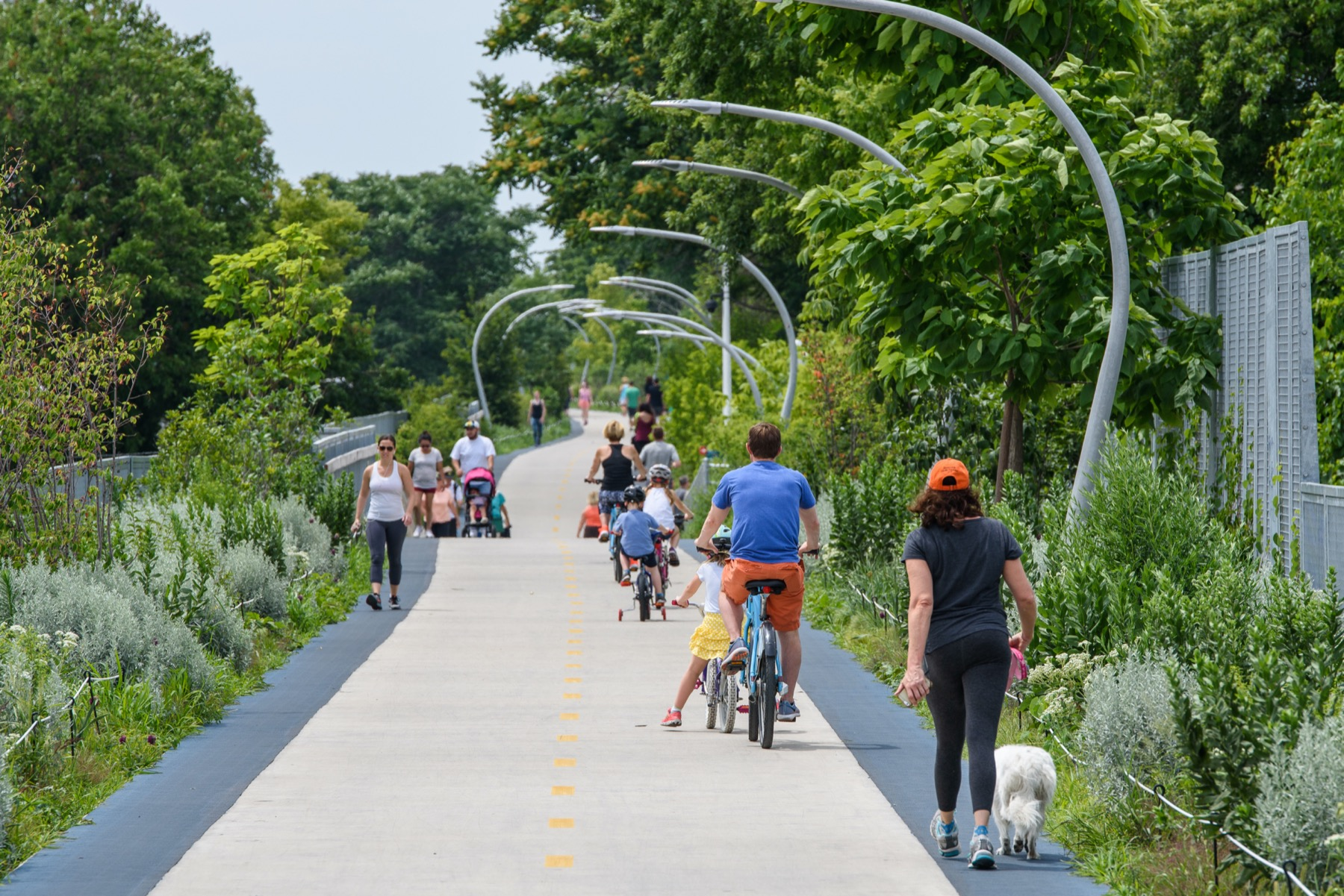 Lakefront trail use